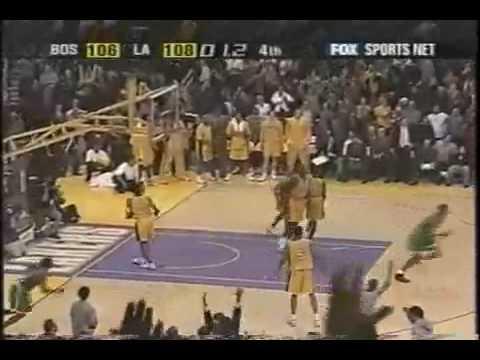 Antoine Walker beats Lakers on last second shot