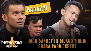 Download lagu Gilang Dirga Tiru Suara Vokal Para Expert - Rising Star Indonesia Super 9 Eps 19