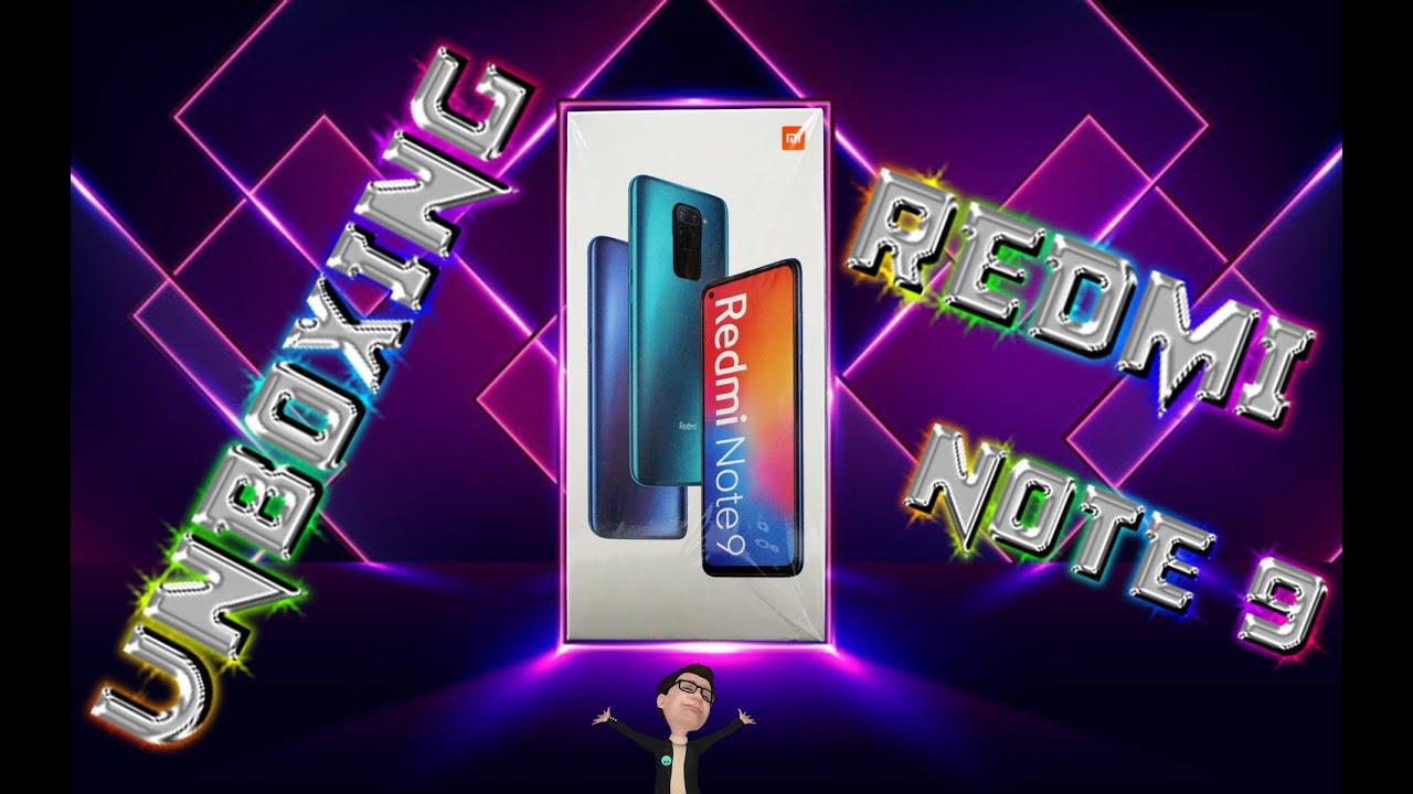 Redmi Note 9 unboxing español, y siguen los Redmi dando