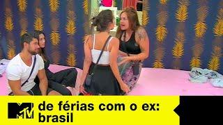 Tati e Ste arrumam treta e Yá se tranca no banheiro | De Férias Com O Ex Brasil Ep. 08
