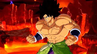 Dragon Ball FighterZ - Broly (DBS) DLC Gameplay Trailer (HD)