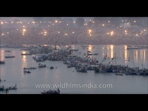 Largest gathering of humanity on earth: Kumbh Mela