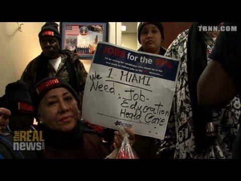 "Labor Activists ""Occupy Congress"""
