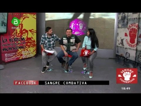 Sangre Combativa #26- Sacha Llorenti y Gary Medrano