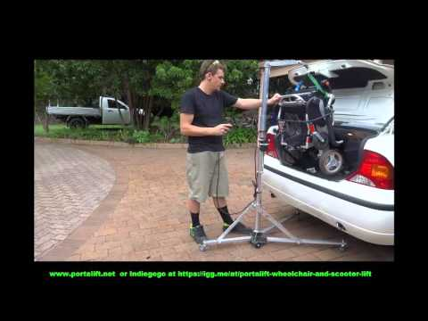 Wheelchair Lift - Wheelchair Lift For Van - Portalift - Wheelchair Lift for Car