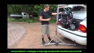 Wheelchair Lift - Wheelchair Lift For Van - Portalift - Wheelchair Lift for Car