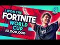 I WON THE FORTNITE WORLD CUP - $3,000,000