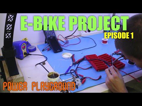 E-Bike Project - Harvesting 18650 Battery Cells - Episode 1
