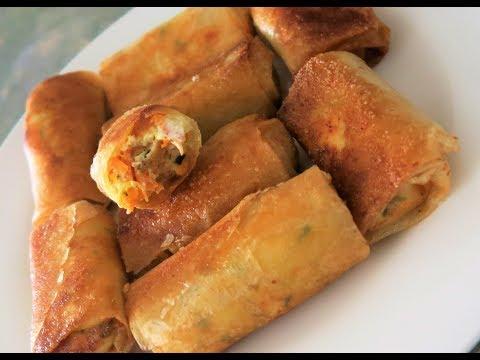 recette-131-:-mini-cigarre-au-poulet,-feta-&-moutarde-(voix-off-avec-mon-bébé)-/-mini-chicken-samosa