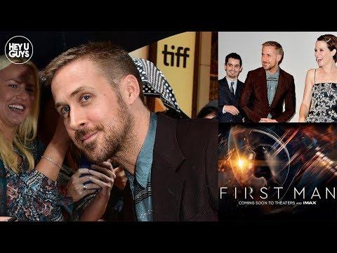Damien Chazelle's First Man TIFF Premiere s  Ryan Gosling & Claire Foy