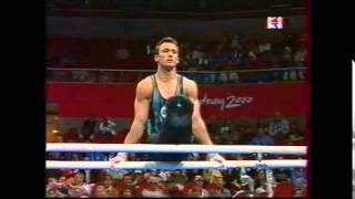 Christian IVANOV (BUL) PB - 2000 Sydney Olympics Qualifs