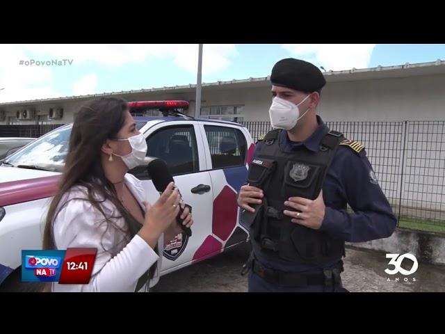 Preso suspeito de agredir mulher e desacatar guardas municipais - O Povo na TV