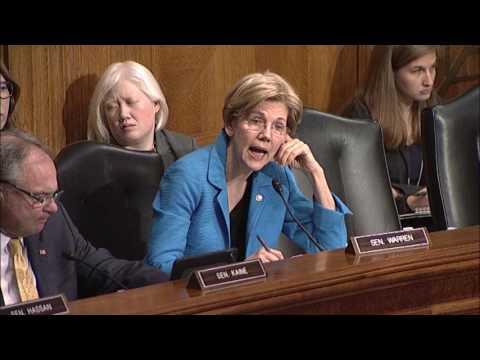 Senator Elizabeth Warren Asks About Impact of Hiring Freeze and Budget Cuts on FDA