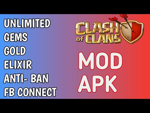 Clash Of Clans Mod Apk ||Gems Hack|| Unlimited Resources || Download Now