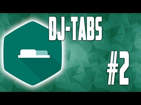 DJ Tabs - общие настройки #2