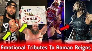 Top WWE Superstars Give Tributes To Roman Reigns,s Leukaemia Cancer ! Goldberg Wrestlemania 35 Plans
