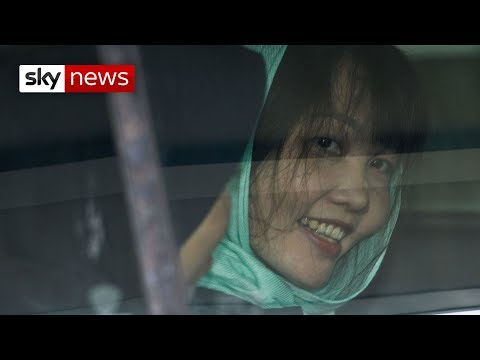 All smiles as Kim Jong Nam's murder suspect is freed