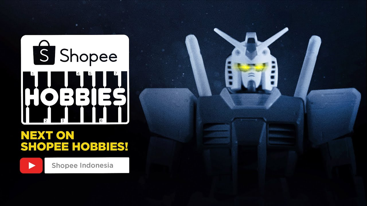 Gundam Eksklusif bertema Indonesia. Besok di Shopee Hobbies!