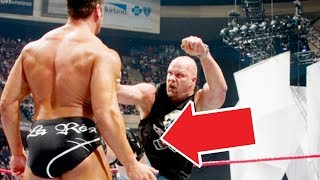 10 Spontaneous Wrestling Decisions That Became Famous