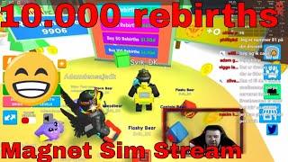 10, 0 renascimentos-Magnet Sim Stream-Dansk Roblox