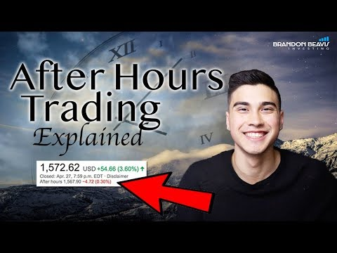What Is After Hours Trading?