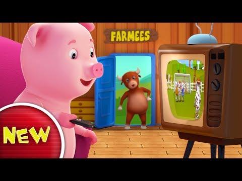 Piggy Piggy Yes Papa   Original Nursery Rhymes   Baby Songs by Farmees