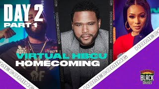 Anthony Anderson talks financial literacy & entrepreneurship! HBCU Virtual Homecoming: Day 2 Part 1