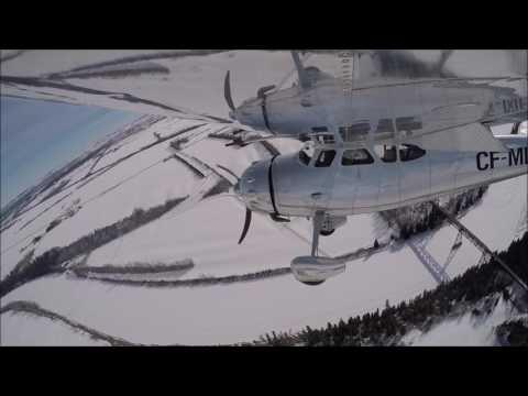 Flight Carstairs to Red Deer, Alberta