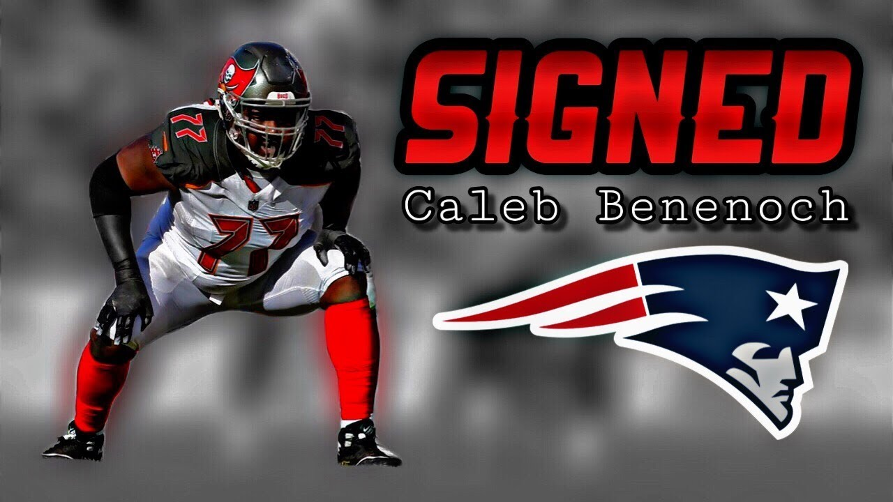finest selection 00589 7a0d1 Patriots Sign OT Caleb Benenoch - YouTube