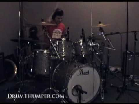 Adrian Griffin Recording Drums Lo! Track 4