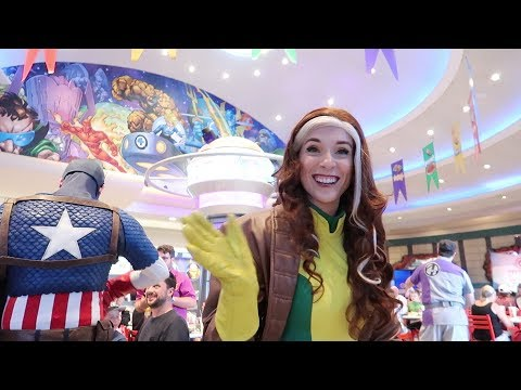 Marvel Superhero Character Dining At Universal Orlando Islands Of Adventure!