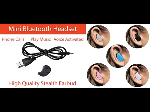 S530 Mini Bluetooth Headset Youtube