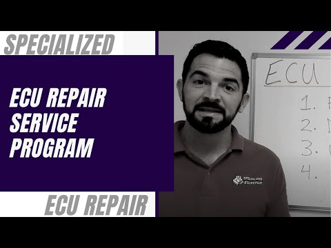 Specialized ECU Repair, Replacement, & Testing - Restore or Exchange