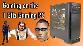 AMD Athlon 1000 and PowerVR Kyro II running games