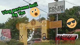 Vlog pertama kali Bg Yos ke Polsek Toboali Polres Bangka Selatan 🤭