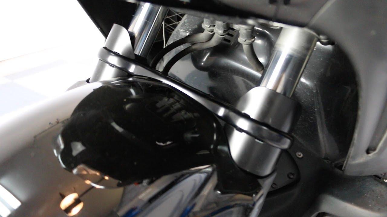 Install Superbrace Fork Stabilizer On A Honda Goldwing F6b