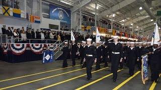 U.S. Navy Boot Camp Graduation: Jan. 25, 2019