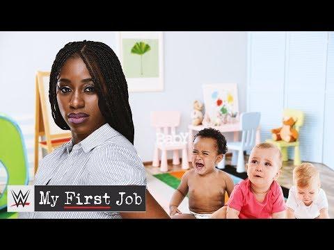 Naomi\'s journey from babysitting to the Orlando Magic to WWE: WWE My First Job