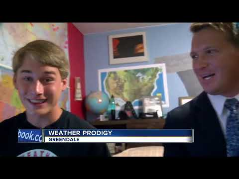 Greendale Teen Becoming A Weather Prodigy