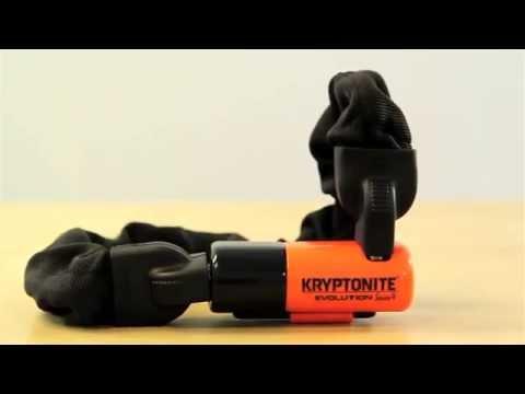 Kryptonite Evolution Series 4 Integrated Chain Bike Lock