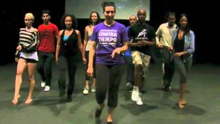 Contra Tiempo teaches choreography for the Dirty Dancing Dance-A-Long