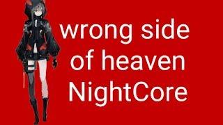 Wrong side of heaven ~ Five Finger Death Punch ~ Lyrics ~ NightCore ~ nightcore master