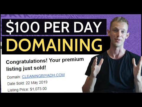How To Make $100 Per Day With Domain Flipping – Step-By-Step Tutorial