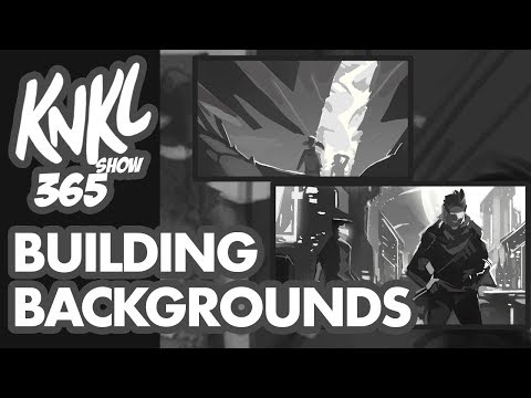 KNKL 365: Building Backgrounds (LIVE tutorial to quickly set up your scene with VALUE blocks!)