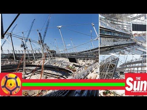 Tottenham's new White Hart Lane stadium taking shape nicely