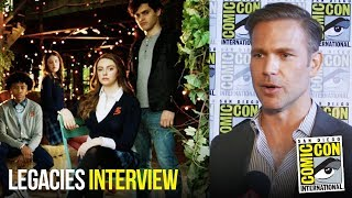 Matthew Davis Loves New Energy of Legacies Cast at Comic Con 2018