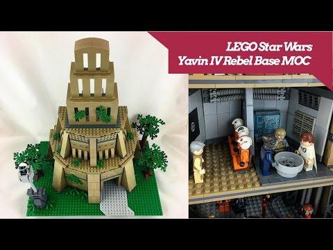 Lego Star Wars - Yavin IV Rebel Base MOC