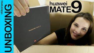 Huawei Mate 9 unboxing en español | 4K UHD