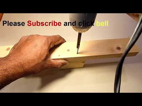 How to make powerful electric screwdriver