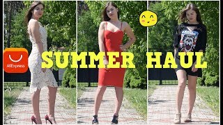 SUMMER DRESSES| Try-on haul from AliExpress